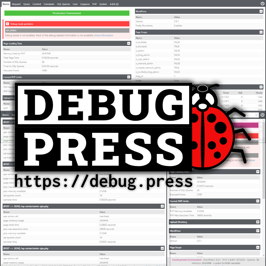 Featured image for: New WordPress project: DebugPress